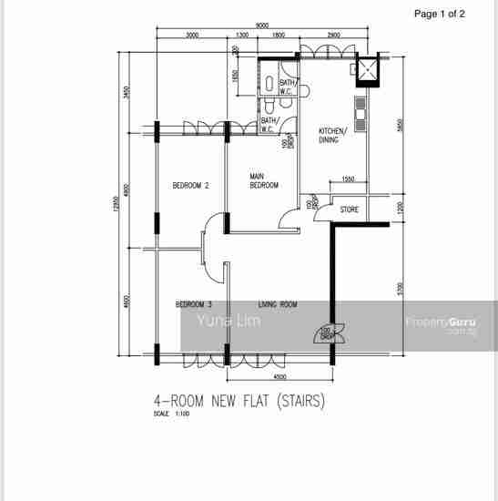buy and sell property 159-Tampines-Street-12 Floor Plan