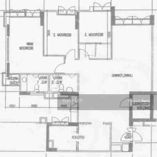 punggol resale property 203B-Punggol-Field Floor Plan