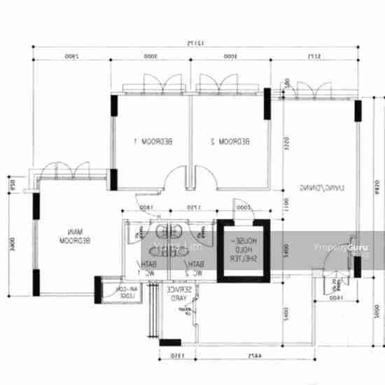 punggol resale property 266B-Punggol-way - Floor Plan