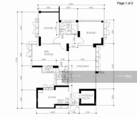 sengkang resale property 269B-Compas9svale-Link Floor Plan