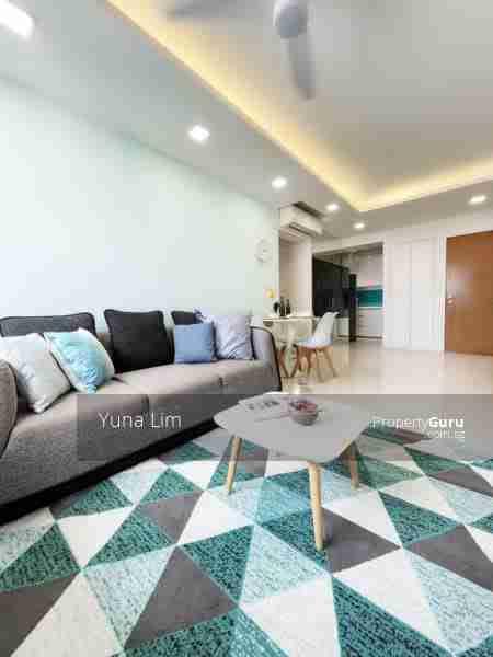 punggol resale property - 308c punggol - Living Room side view