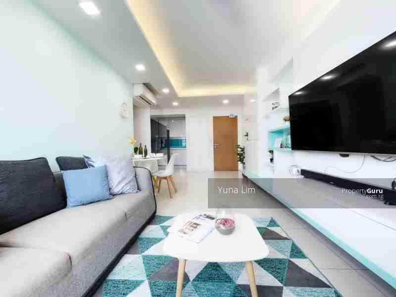 punggol resale property - 308c punggol - Living Room Full View