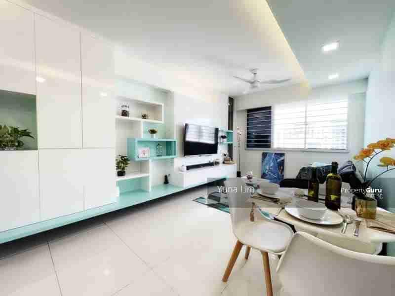 punggol resale property - 308c punggol - Living Room White wall