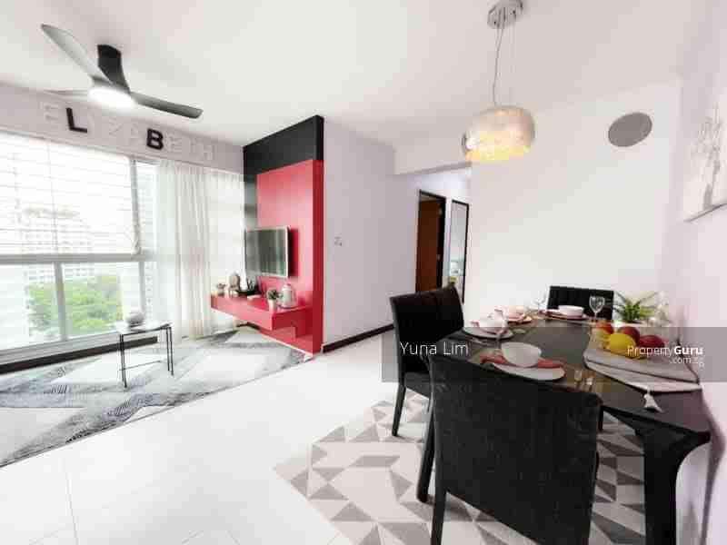 punggol property 612A-Punggo4l-Drive-Singapore Living Room More View
