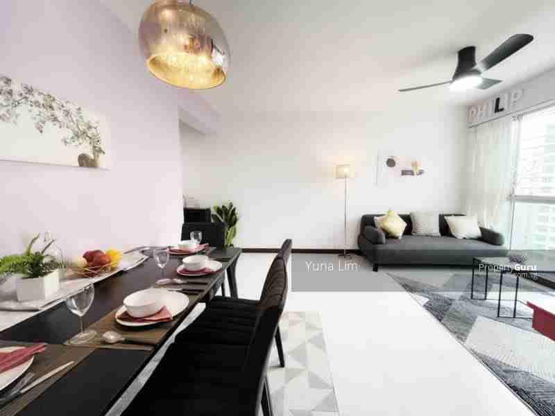 punggol property 612A-Punggo4l-Drive-Singapore Living Room Corner
