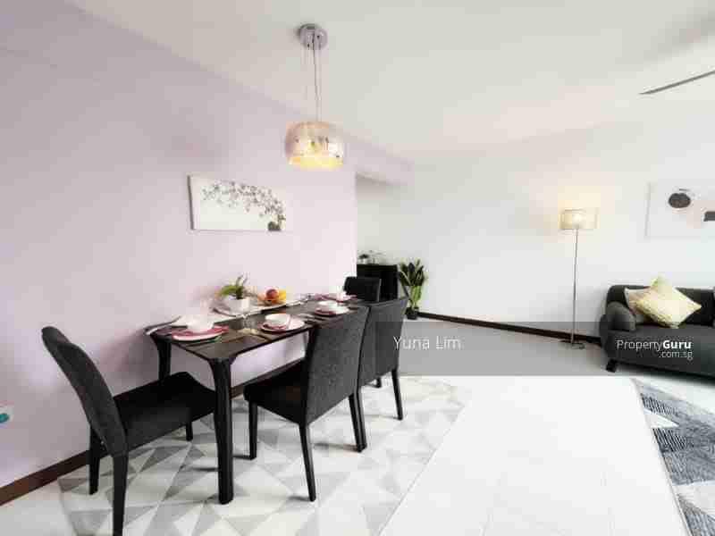punggol property 612A-Punggo4l-Drive-Singapore Living room dinning table back
