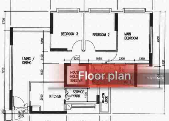 punggol property 612A-Punggo4l-Drive-Singapore Floor Plan