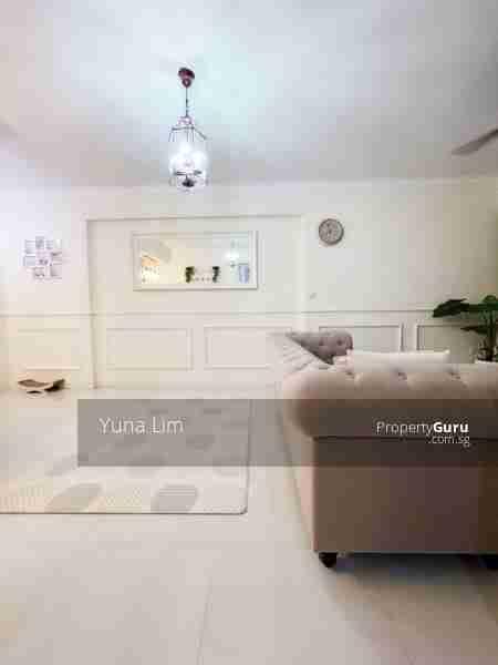 punggol resale property - 673B-Edgefield-Plains - Living Room view