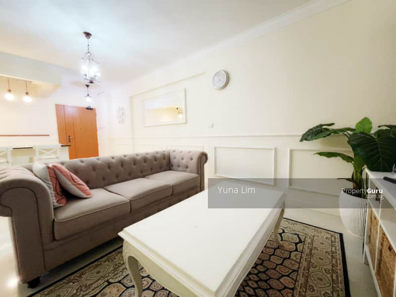 punggol resale property - 673B-Edgefield-Plains - side view Living Room