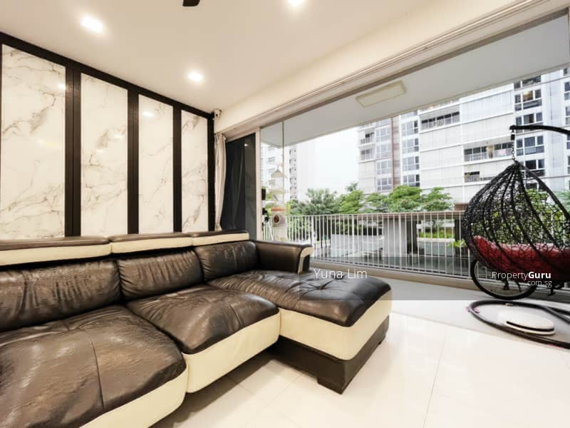 punggol resale property - Ecopolitan - Living Room sofa view