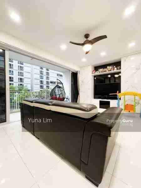 punggol resale property - Ecopolitan - Living Room TV view