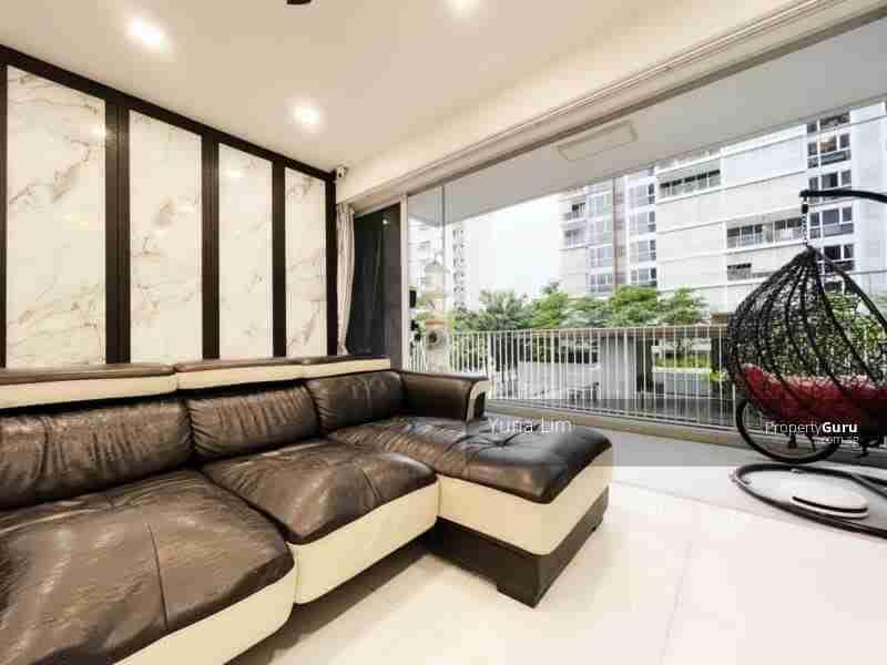 punggol resale property - Ecopolitan - Living Room Balcony View