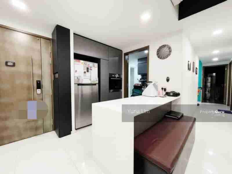punggol resale property - Ecopolitan - Living Room Doorview