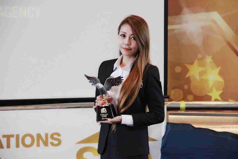 top property agent S.E.A winning champions agent winning eagle