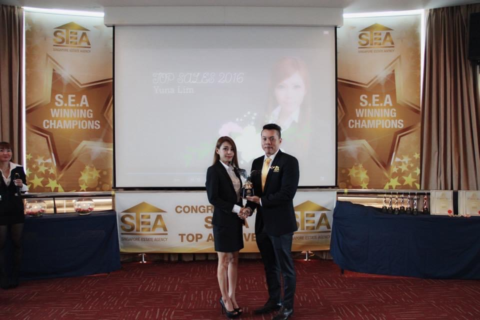 top property agent S.E.A winning champions