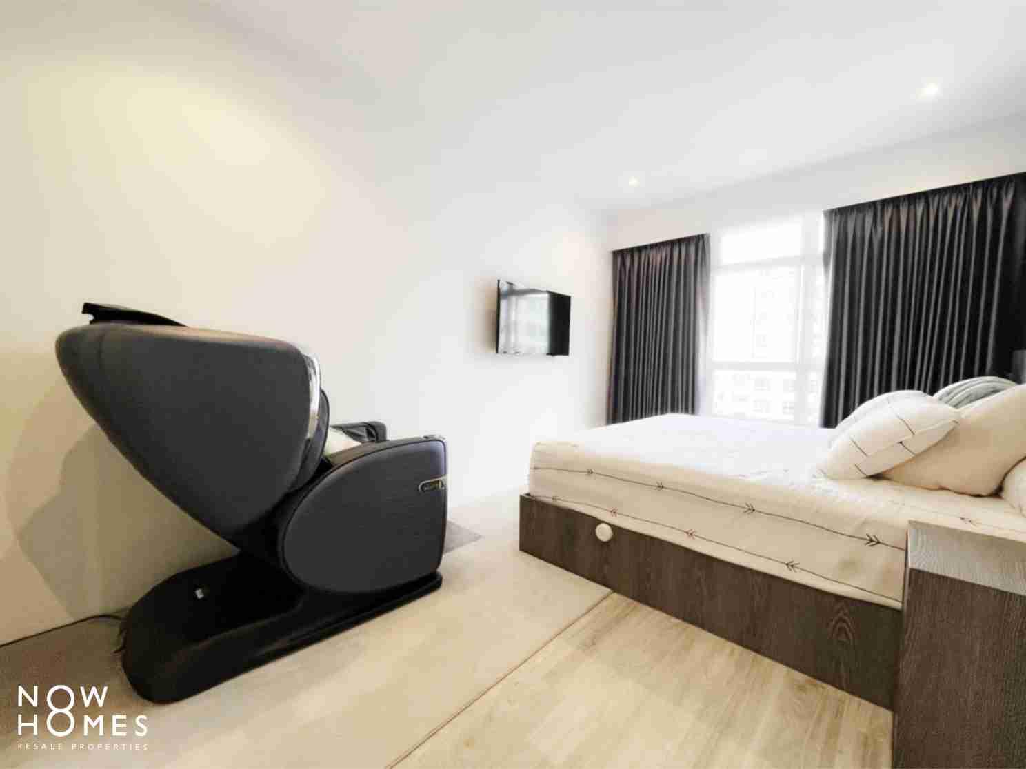 sengkang resale property - 288 compassvale - Masterbed room