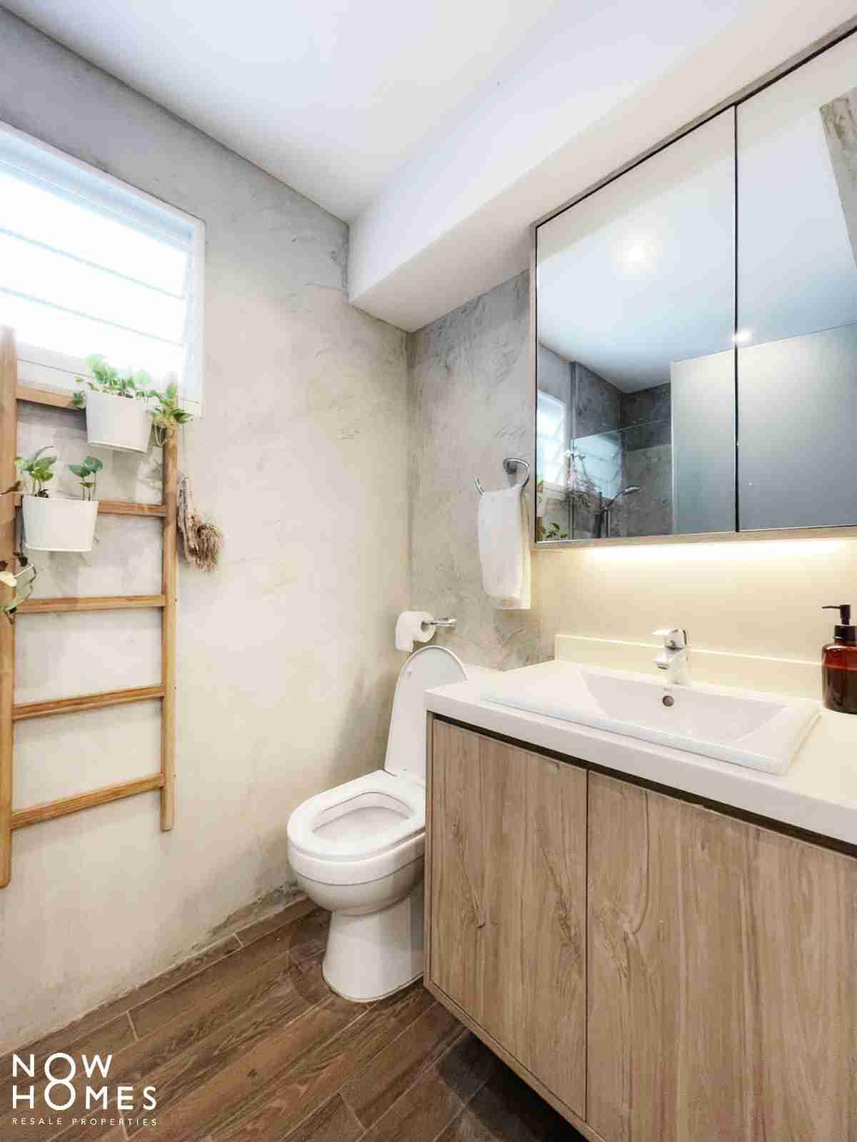sengkang resale property - 288 compassvale - toilet