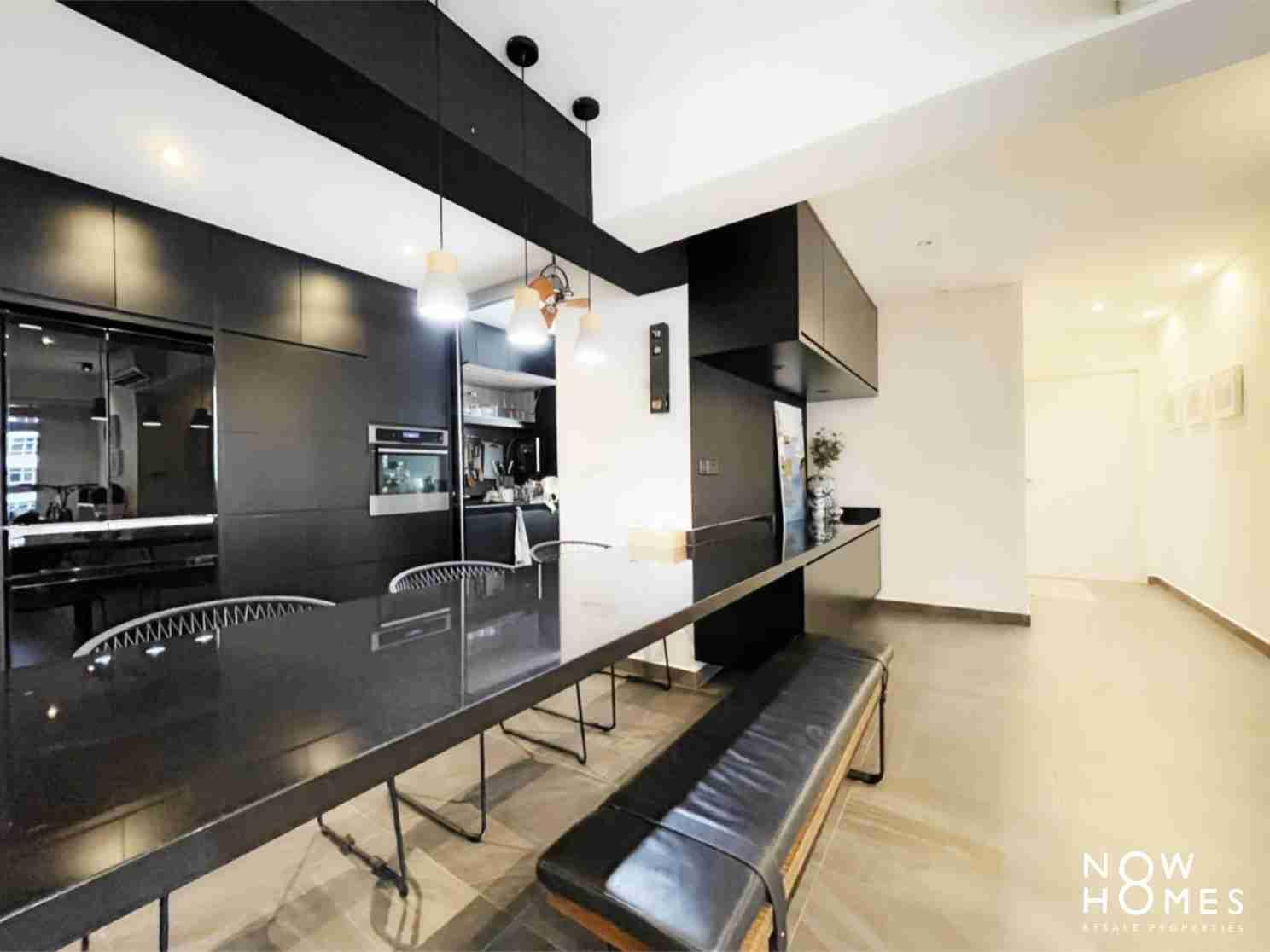 sengkang resale property - 288 compassvale - Living Room room view