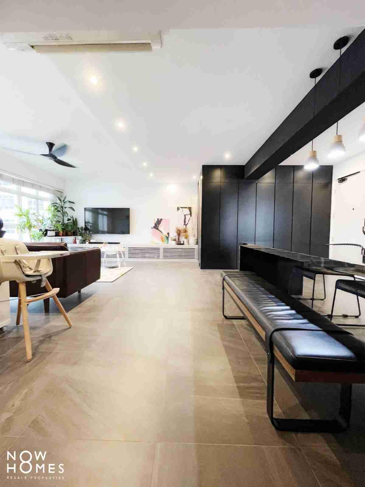 sengkang resale property - 288 compassvale - Living Room app view