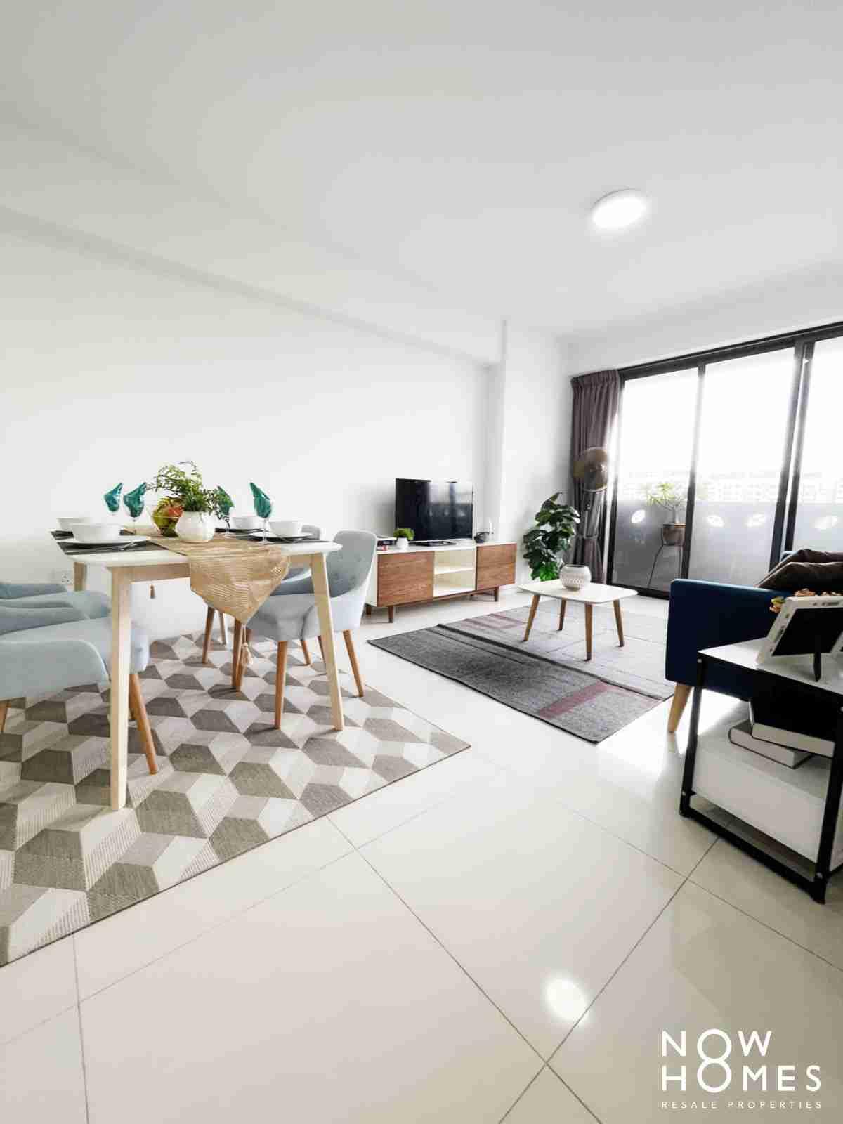punggol resale property - 310B Punggol Walk - Living Room short view