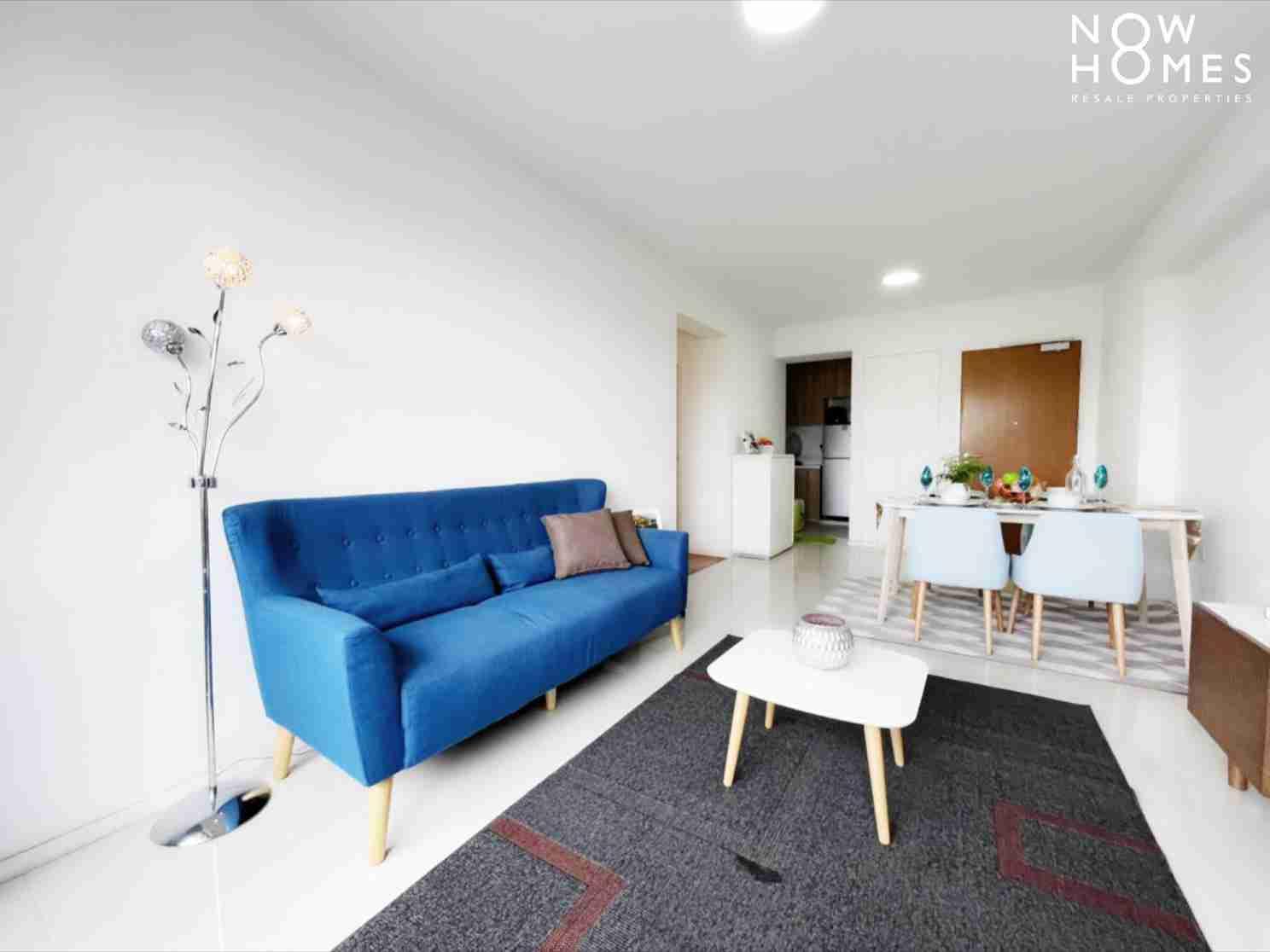punggol resale property - 310B Punggol Walk - Living Room Corner View