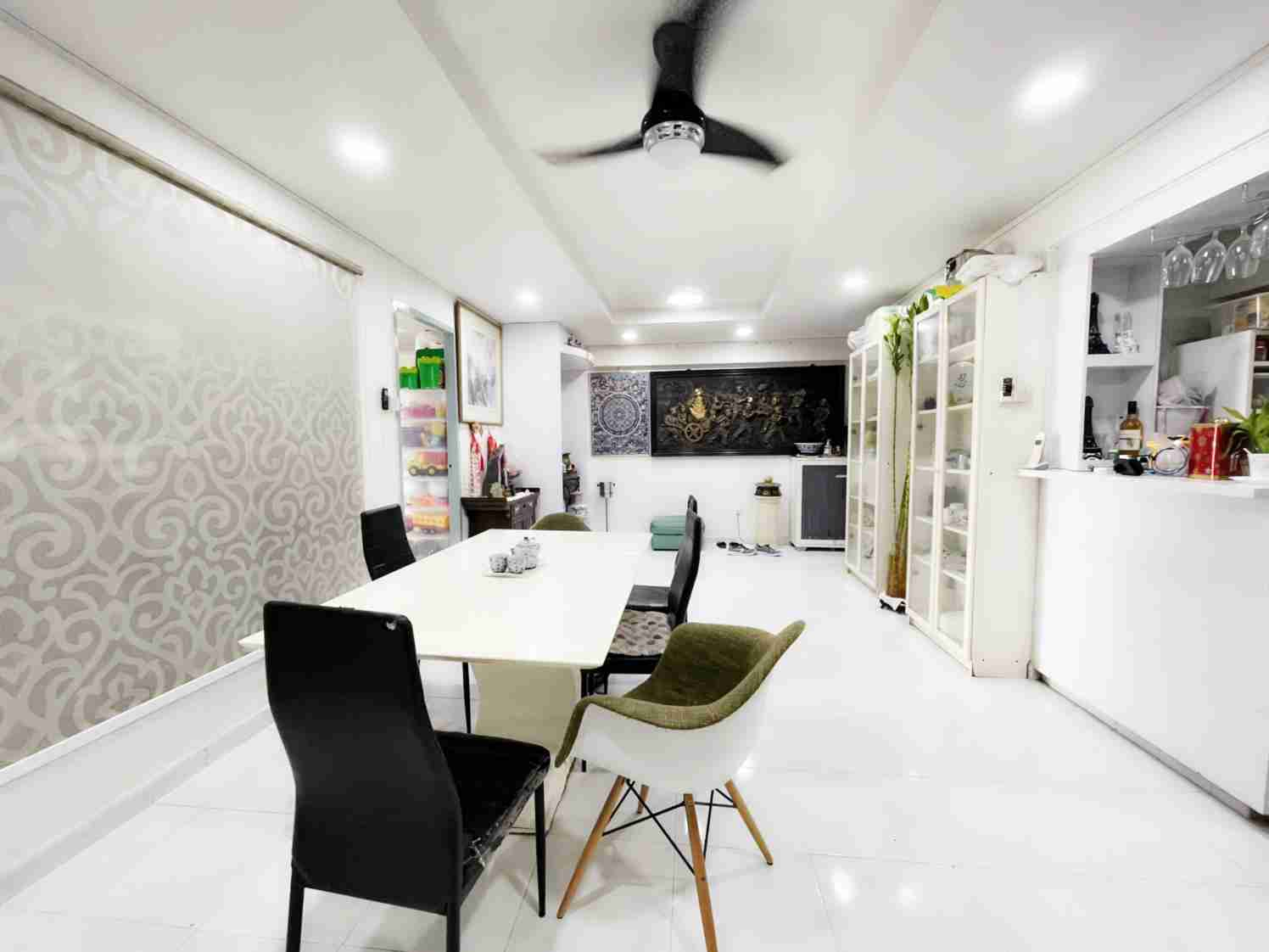 sengkang resale property - 318C Anchorvale Link Living Room Another View