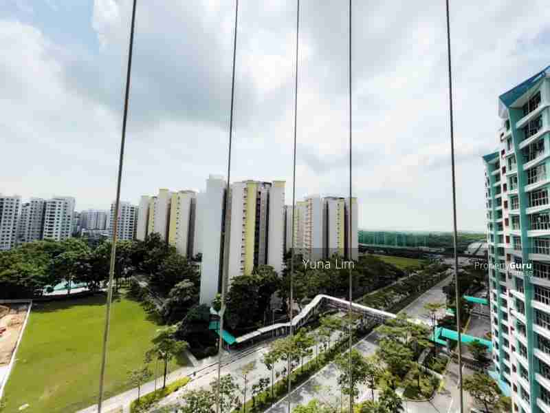punggol resale property River-Isles - Living Room window View