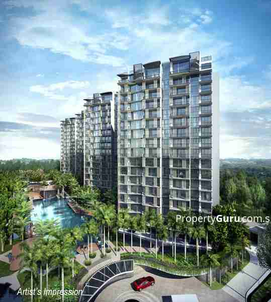 punggol resale property River-Isles - Building